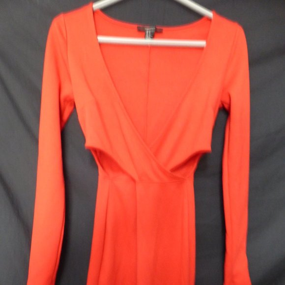 FOREVER 21, s, small, red long sleeve dress, BNWOT